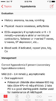 Hypokalemia - Evaluation